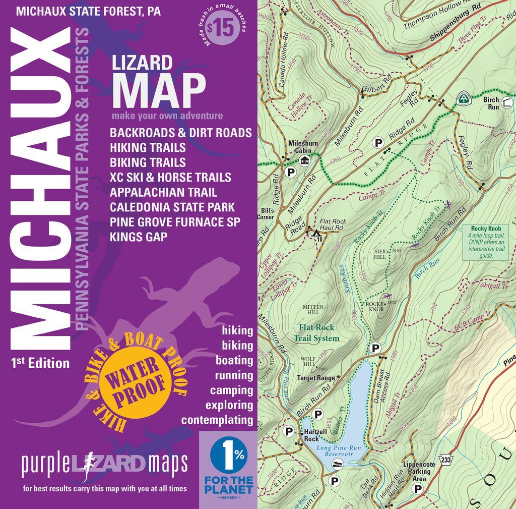 Michaux Cover and Map