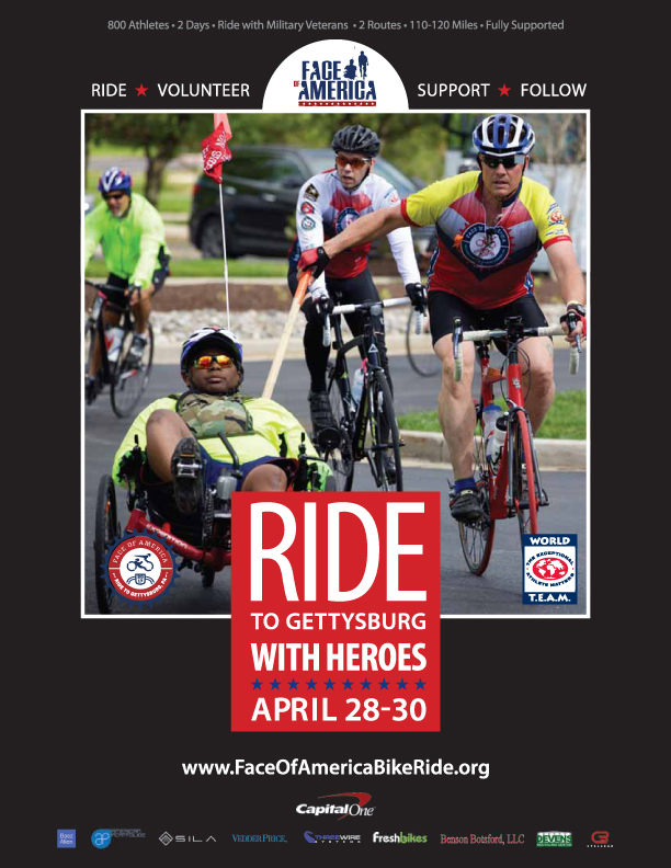 WT Face of America Bike Ride Flyer 2017.indd